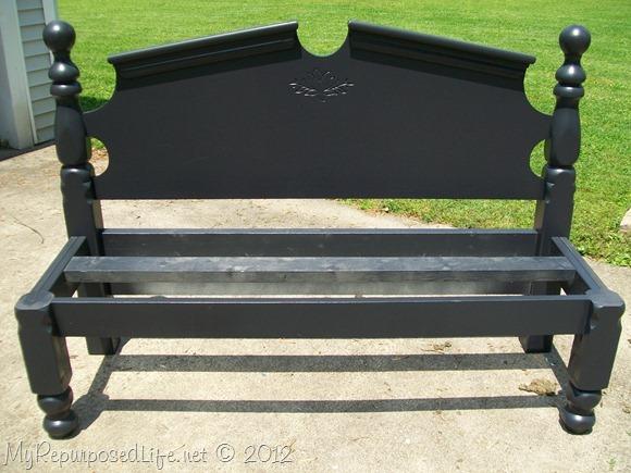 repurposed headboard into bench (12)