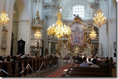 The Churchof the Carmelites, Old Town, Warsaw