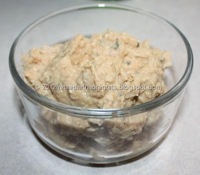 Hummus Tuna Salad - A