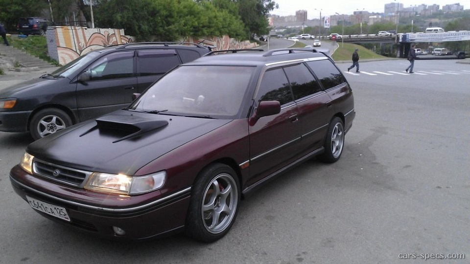 1992 Subaru Legacy Wagon Specifications Pictures Prices
