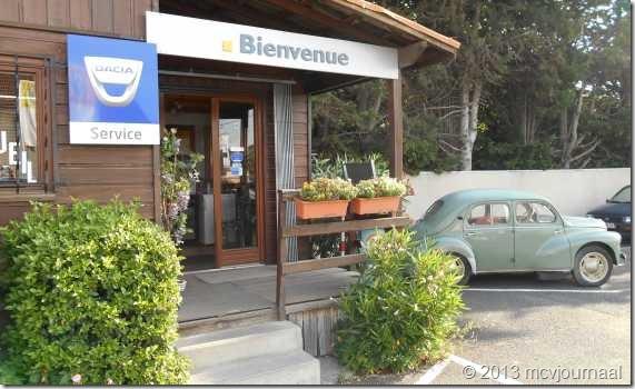 Frankrijk met de Dacia Logan MCV 10