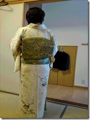 優しいお色の着物で (2)