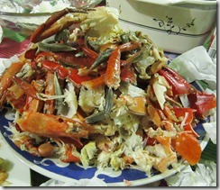 crab shells, 240baon