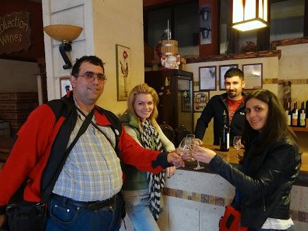24. La degustare de vinuri in Urgup.JPG