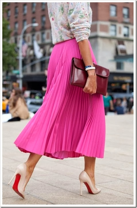 inventand-moda-saia-plissada-rosa-midi