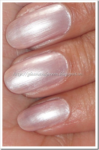 Colorbar nail Lacquer Exclusive 30 Finish