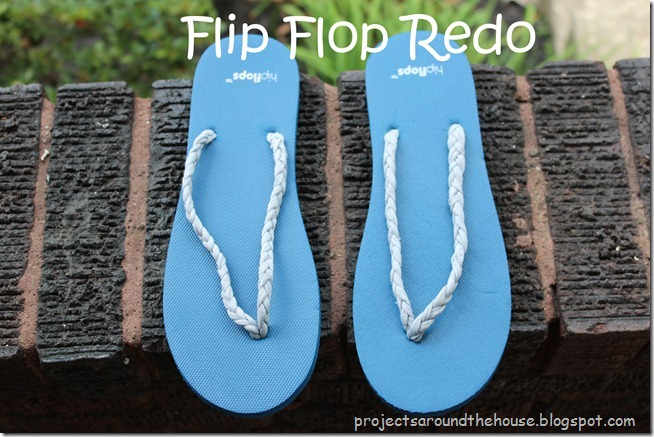 Flip Flop Redo, Refashion, Shoe