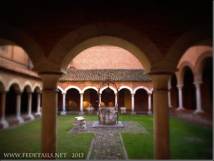 Chiostro San Romano 2/1, Ferrara, Emilia Romagna, Italia - Cloister of San Romano 2/1, Ferrara, Emilia Romagna, Italy - Property and Copyrights of FEdetails.net