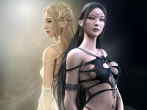 Dark Goddess Lovely Woman From Goddesses Images