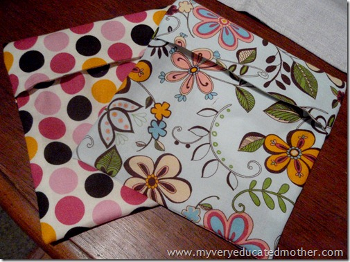 @mvemother Fold Top Snack Bags