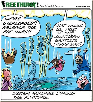 Rapto arrebatamiento humor ateismo cristianismo biblia dios
