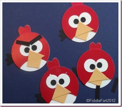 Angry Bird Craft Punch