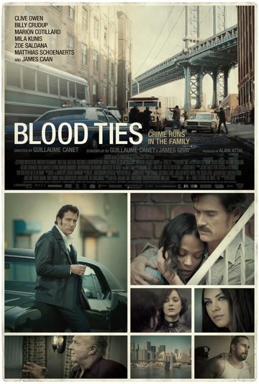 Új Blood Ties poszter és trailer