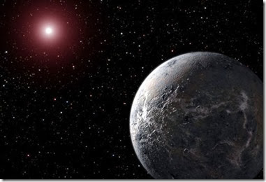 Rocky planet around a dim star