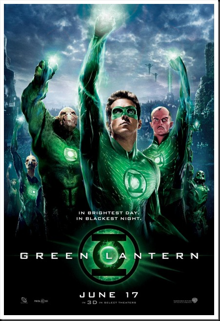 Greenlantern New Film Poster