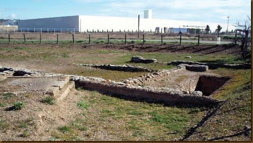 Bodega romana de Funes - Vista general