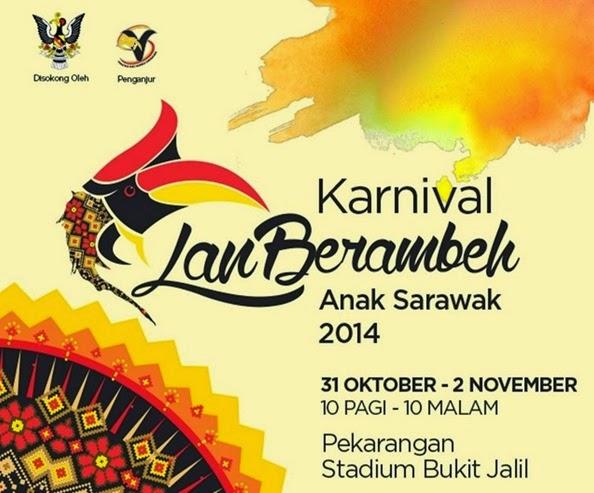 Festival Lan Berambeh Anak Sarawak 2014 di Bukit Jalil