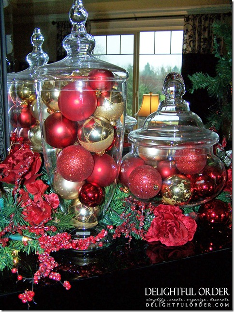 Delightful order my christmas décor home tour
