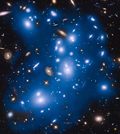 aglomerado de galáxias Abell 2744