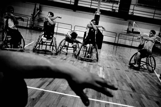 Баскетбол без ног