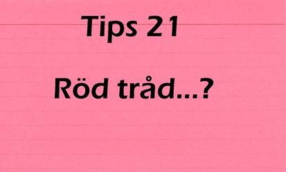 tips 21