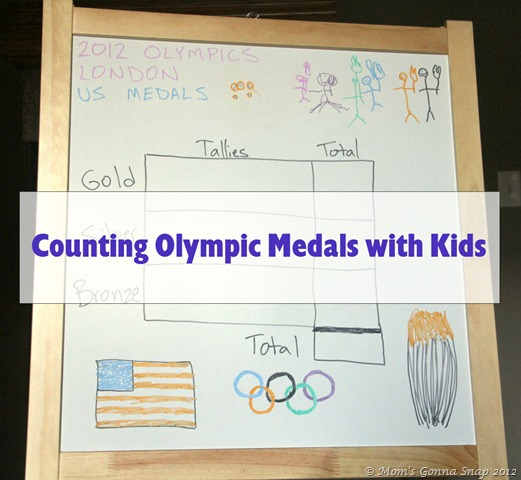 Olympic Fever - Counting Medals with Kids