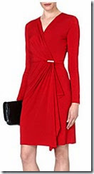 Michael Michael Kors Wrap Effect Dress