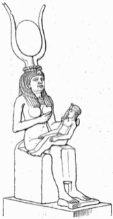 Isis amamenta Hórus - Priscila e Maxwell Palheta