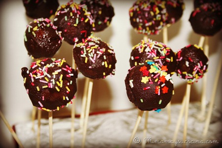 Receta Cakepops