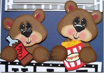 cricut bears paper piecing movie cutting file-500