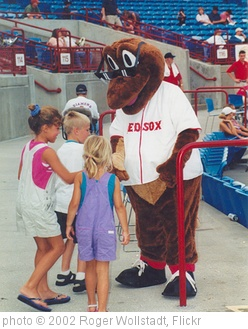 'Sarasota - Baseball Mascot at Stadium' photo (c) 2002, Roger Wollstadt - license: http://creativecommons.org/licenses/by-sa/2.0/