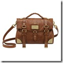 Mulberry Travel Day Bag Oak Shiny Lambskin