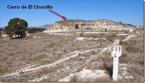 Cerro de El Chorrillo - yacimiento arqueológico