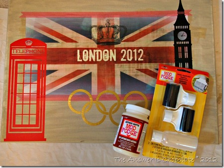 London Canvas Antique Mod Podge