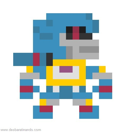 super herois e viloes em 8 bits transformers  (3)