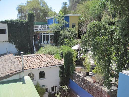 Pablo Neruda's Santiago house, La Chascona.