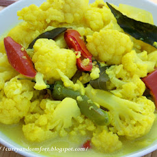 Cauliflower Curry-Mild