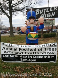 butler high school craft fair