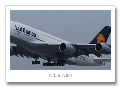 Top 3 largest Airbus A380