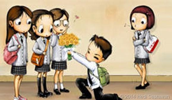 5 Ciri Kakak Kelas Naksir Adik Kelas