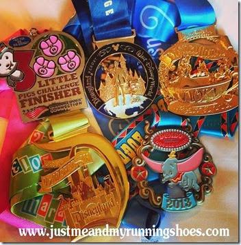 Disneyland Half Marathon Weekend Medals-1