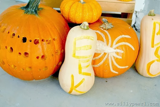 Easy Way to Carve Real Pumpkins