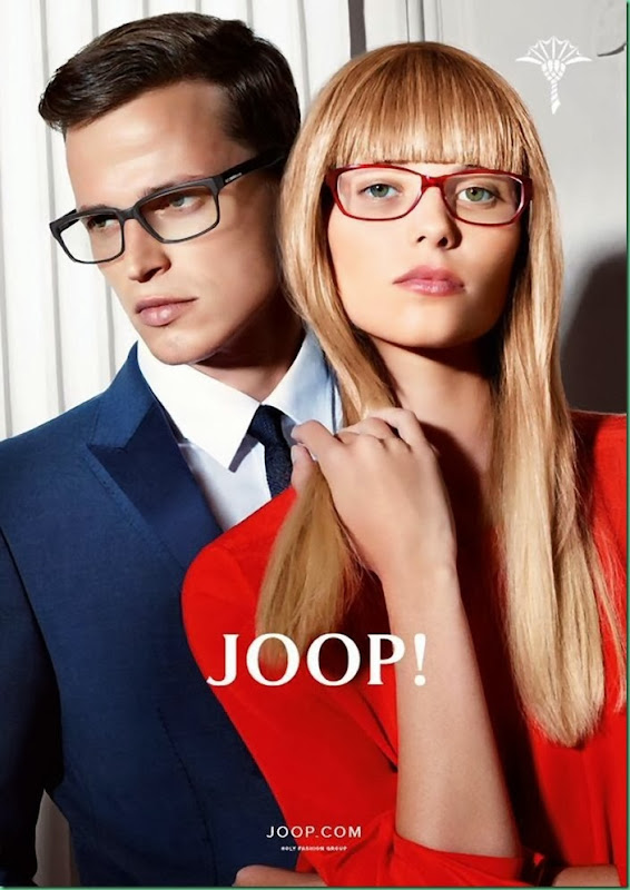 Lars for Joop! Spring Summer 2014 Campaign