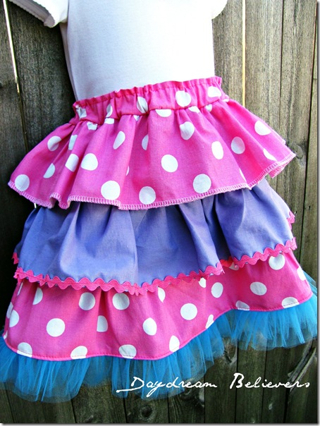handmade abby caddabby sesame street birthday skirt