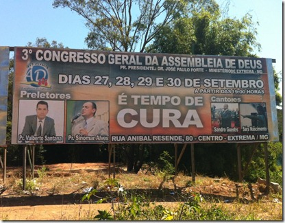 Outdoor 3° Congresso