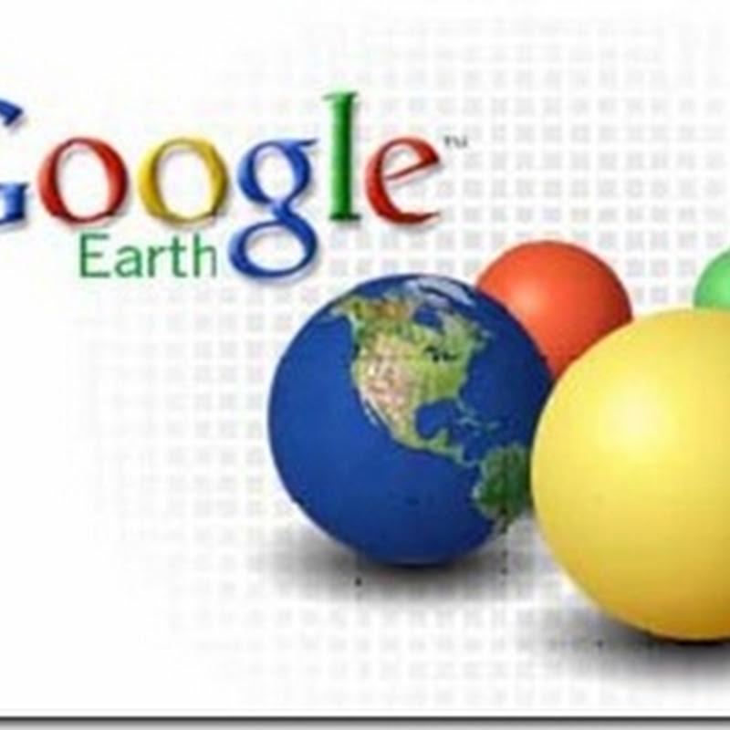 """Google Earth: creazione di modelli di """"Spreadsheet Mapper""""."""
