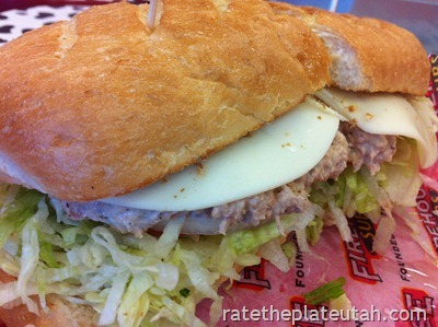 Firehosue Subs Tuna Salad