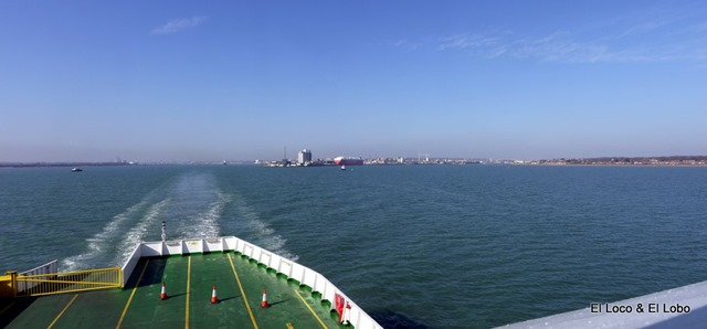 Looking back to Southampton