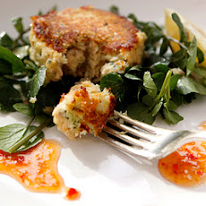 Smoked Trout Fish Cakes