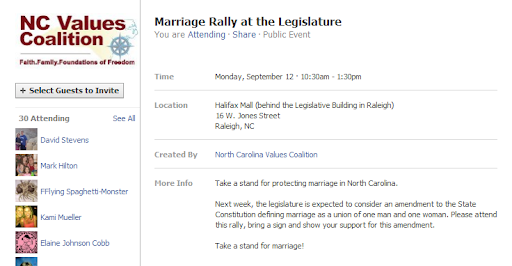 ... Rally on the 12th of September at the Halifax Mall behind the NCGA.